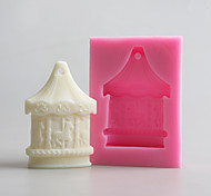 Carrousel Handmade Soap Mold DIY Silicone Soap Candle Mold Handmade Soap Salt Carved DIY Silicone Food Grade Silicone Mold