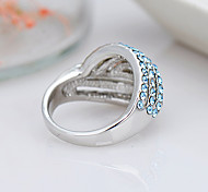 Women's Ring Jewelry Euramerican Fashion Rhinestone Alloy Jewelry Jewelry 147 Birthday Event/Party Other