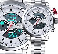 HombreReloj Deportivo Reloj Militar Reloj de Vestir Reloj de Moda Reloj de Pulsera Reloj Pulsera Reloj creativo único Reloj Casual Reloj