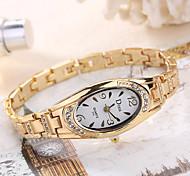 Жен. Женские Модные часы Наручные часы Уникальный творческий часы Повседневные часы Кварцевый сплав ГруппаС подвесками Элегантные часы