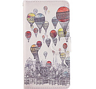 Case For Samsung Galaxy Grand Prime On7(2016) Case Cover The Balloon Pattern PU Leather Cases for On5(2016)
