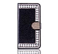Назначение iPhone X iPhone 8 Чехлы панели Кошелек Бумажник для карт Стразы со стендом Флип Чехол Кейс для Твердый для Apple iPhone X