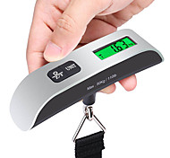 1pc Travel Luggage Scale Portable Luggage Accessory Multi-function for Portable Luggage Accessory Multi-function Stainless Steel Rubber