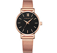 Women's Fashion Watch Japanese Quartz Digital Water Resistant / Water Proof Alloy Band Silver Rose Gold