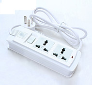 250V 16A Power Strip with Switch 2m Cable EU/UK/US Plug Universal