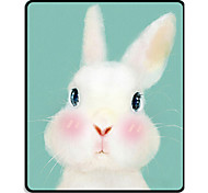 Mr.viv i милый животное черный замок край кролик кролик коврик коврик коврик сумка 24 * 20 * 0.3cm