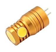 2W Двухштырьковые LED лампы T 4 COB 180 lm Тёплый белый V 1 шт.