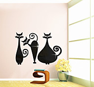 Three Cats Mirror Decoration