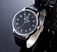 Муж. Спортивные часы Нарядные часы Модные часы Повседневные часы Наручные часы Уникальный творческий часы Китайский КварцевыйЗащита от