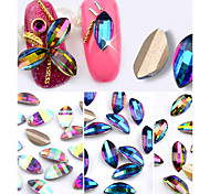 10PCS Nail  Art drill Stick Act the Role Ofing Iridescence Petals Diamond 3 Color Optional