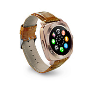 YY X3  Men's Woman  SmartWatch Bluetooth Call Camera Can Be Inserted Phone Card Alarm Clock Touch Screen Watch for Ios Android