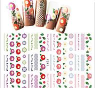 1 Стикер искусства ногтя Компоненты для самостоятельного изготовления макияж Косметические Ногтевой дизайн