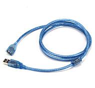 USB 2.0 Адаптер, USB 2.0 to USB 2.0 Адаптер Male - Female 1.5M (5Ft)