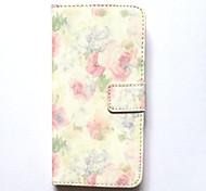 Чехол для Apple iphone 6s плюс 6 плюс чехол чехол карты держатель кошелек с подставкой флип-паттерн полный корпус чехол цветок твердая