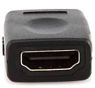 HDMI 2.0 Адаптер, HDMI 2.0 to HDMI 2.0 Адаптер Female - Female Позолоченная медь
