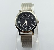Men's Dress Watch Wrist watch Quartz Metal Band Silver