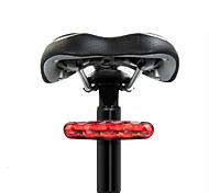 LED Велоспорт На открытом воздухе AAA Люмен Батарея красный Велосипедный спорт