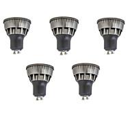 3W LED Spot Lampen 1 COB 320 lm Warmes Weiß Kühles Weiß Dekorativ V 5 Stück