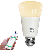 ZigBee 9w 2700-6500K bombilla inteligente compatible con el bulbo de la tonalidad de iluminación inalámbrico de control de aplicación