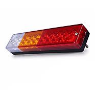 Ziqiao 1pcs 12v водонепроницаемый 20leds atv / грузовик светодиодный фонарь заднего фонаря заднего хода