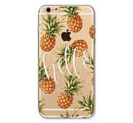 Чехол для iphone 7 плюс 7 крышка прозрачный узор задняя крышка чехол плоская плитка ананас мягкая tpu для яблока iphone 6s плюс 6 плюс 6s