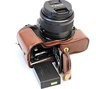 Dengpin pu кожаная сумка для камеры с чехлом для канона eos m5 (различные цвета)