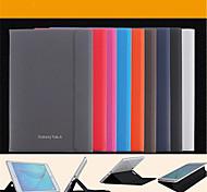 Для Кейс для  Samsung Galaxy со стендом / Флип / Магнитный Кейс для Чехол Кейс для Один цвет Искусственная кожа SamsungTab A 9.7 / Tab A