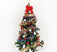 1pc 1.5 m / 150cm роскошное шифрование рождественская елка оформленная гостиная люкс пакет отелей рождество новый год gif