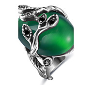 Жен. Массивные кольца Кольцо Обручальное кольцо Опал Базовый дизайн Уникальный дизайн Chrismas Классика Elegant бижутерия Мода Винтаж