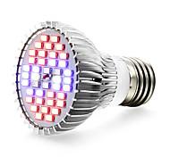 15W E27 LED лампа для теплиц 40 SMD 5730 800-1200 lm Красный Синий UV (лампа черного света) V 1 шт.
