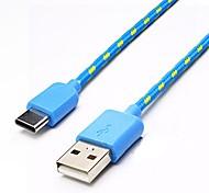 USB 3.1 Кабель-переходник, USB 3.1 to USB 3.1 Type C Кабель-переходник Male - Male 2.0m (6.5Ft) 10 Гб/сек.