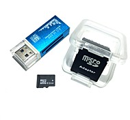 Карта памяти microshdcc 8gb tf со всеми в одном считывателе карт USB и адаптере sdhc sd