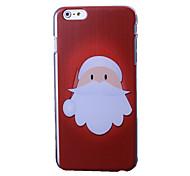 С Рождеством серии пластик твердый переплет для iPhone 6 Plus