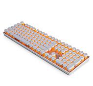 Ajazz ak33 punk keycaps набор для механической клавиатуры игровая клавиатура steampunk keycaps 108 клавиш