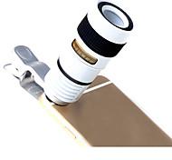 Линк lq-007 объектив с длинными фокусными линзами алюминиевый 8x объектив для сотовых телефонов для мобильных телефонов samsung android