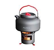 ALOCS Подставки Походный чайник Походная горелка Кофе и чай Медь Твердый алюминий для Пикник Отдых и туризм