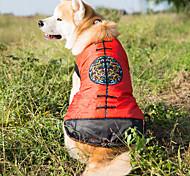 Собака Жилет Одежда для собак Новый год Цветочные/ботанический