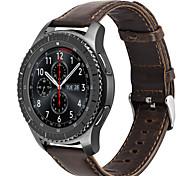 Для hoco samsung gear s3 frontier классический ремешок подлинная кожа частота замена часов smartwatch браслет браслет 22mm