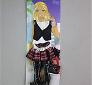 Для Кукла Барби Юбки Верхняя часть Ботинки Для Девичий игрушки куклы