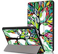 Крышка корпуса pu для huawei mediapad t3 10 ags-l09 ags-l03 9,6 дюйма с защитой экрана