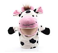 Мягкие игрушки Пальцевая кукла Игрушки Утка Лошадь Лев Овечья шерсть Зебра Cow Обезьяна Животные Взрослые Куски