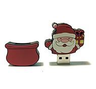 32gb рождество usb флеш-накопитель мультфильм творческий Санта-Клаус рождественский подарок usb 2.0