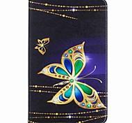 бабочка шаблон карты держатель кошелек с подставкой флип магнитный кожаный чехол pu для Samsung Galaxy Tab 10,1 t580n t585n 10,1-дюймовый
