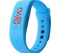 hhy 2017 новый сенсорный привело спортивные электронные часы студентов силиконовый браслет