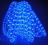 8м 220v Higt яркие светодиодные полосы света гибкие 5050 480smd три кристаллические водонепроницаемый свет бар света сада с штепсельной