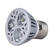 E26/E27 3 W 3 Krachtige LED 270 LM 3000K K Warm wit PAR Spotjes AC 85-265 V