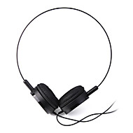 Headphone 3.5mm Over Ear Lightweight Audio for PC/Phones(Black)