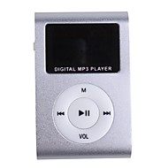 Plug-in Micro SD Card TF Card Reader MP3 Music Player - Sliver