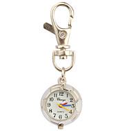 Dames Modieus horloge Polshorloge Kwarts Sporthorloge Band Wit Zilver