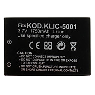 digitalkamera batteri för Kodak Kodak EasyShare DX6490 (3.7V, 1750mah)